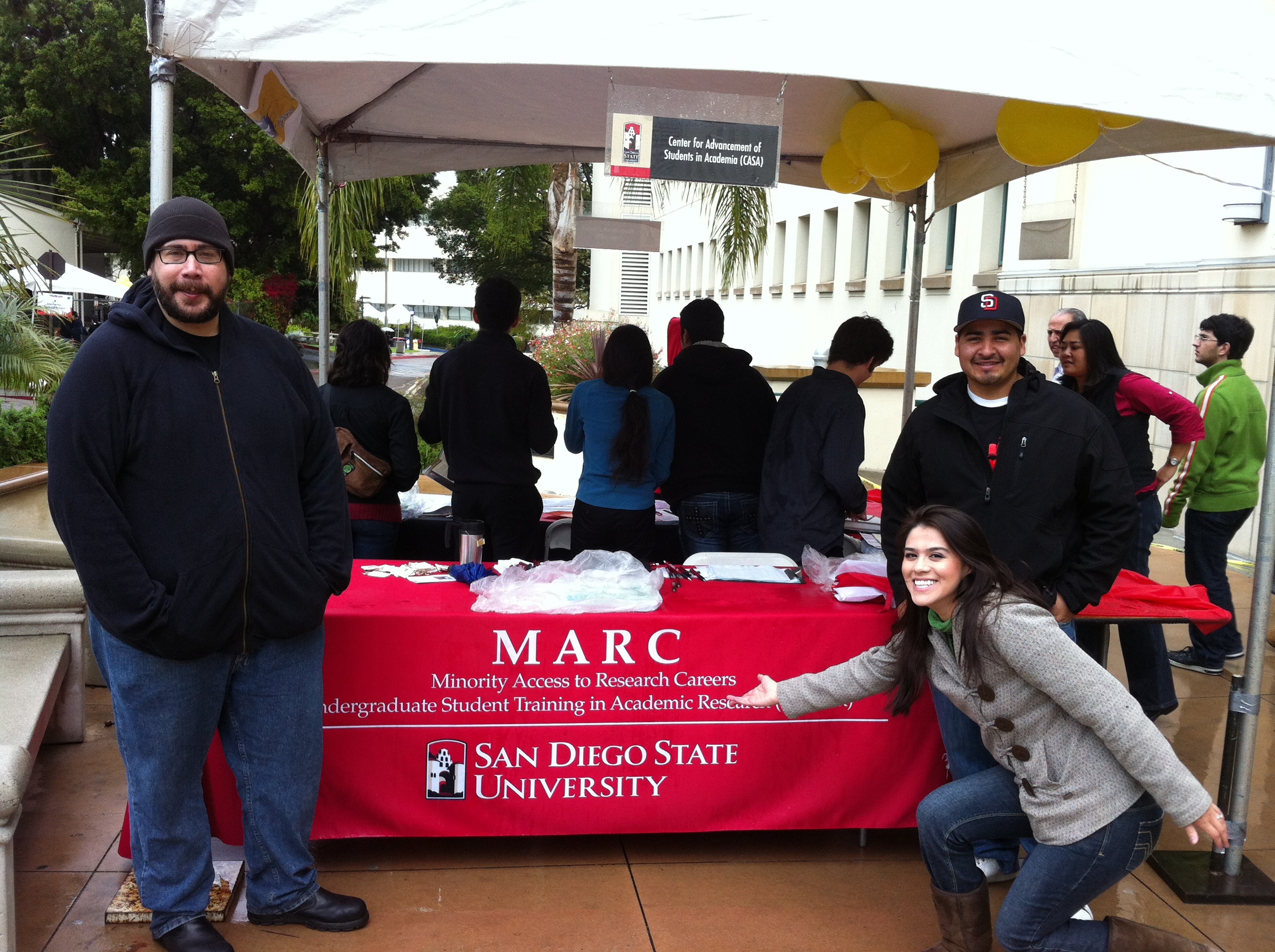 Explore SDSU 2012 MARC Table