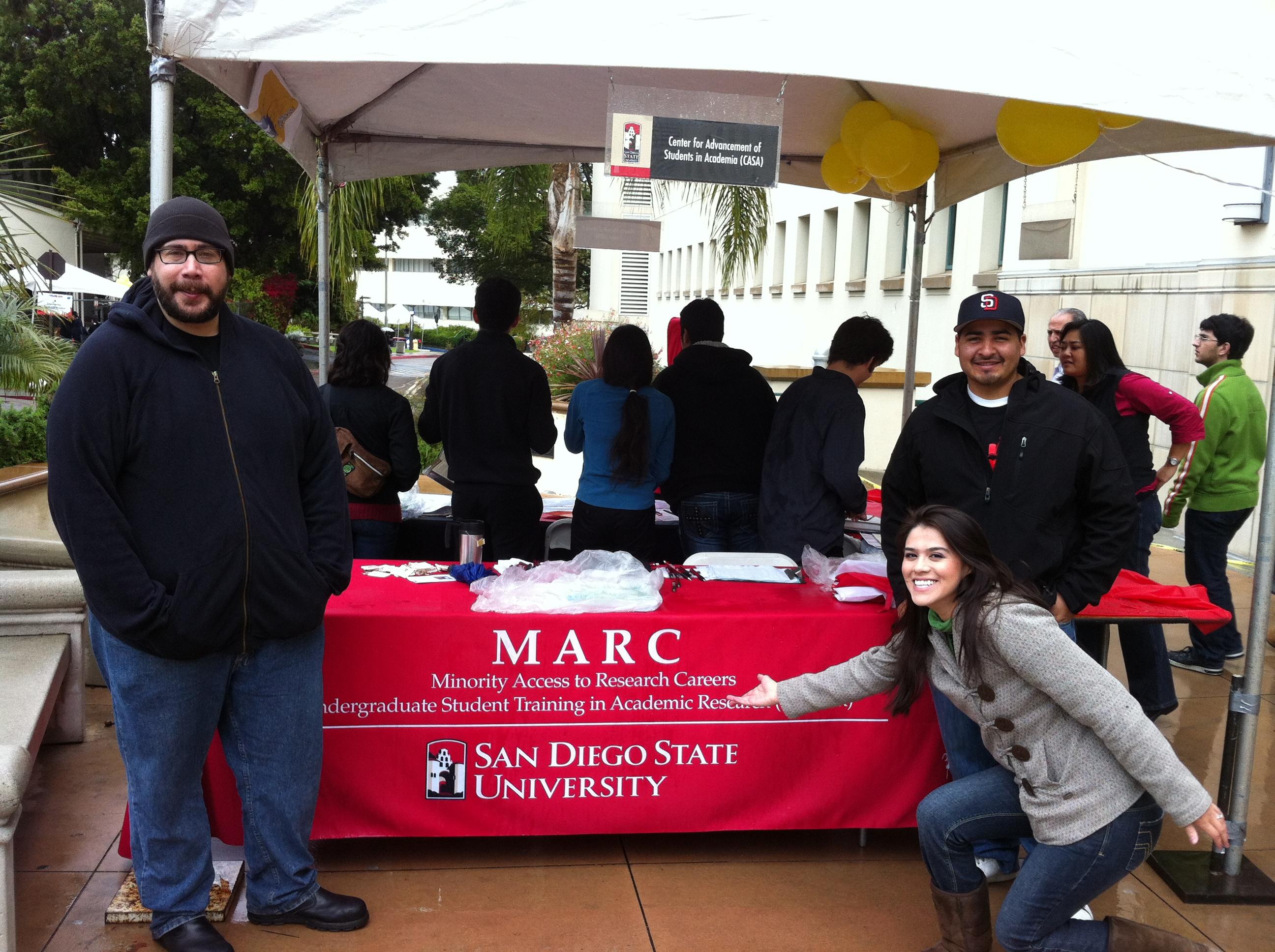 Explore SDSU 2012 MARC Table