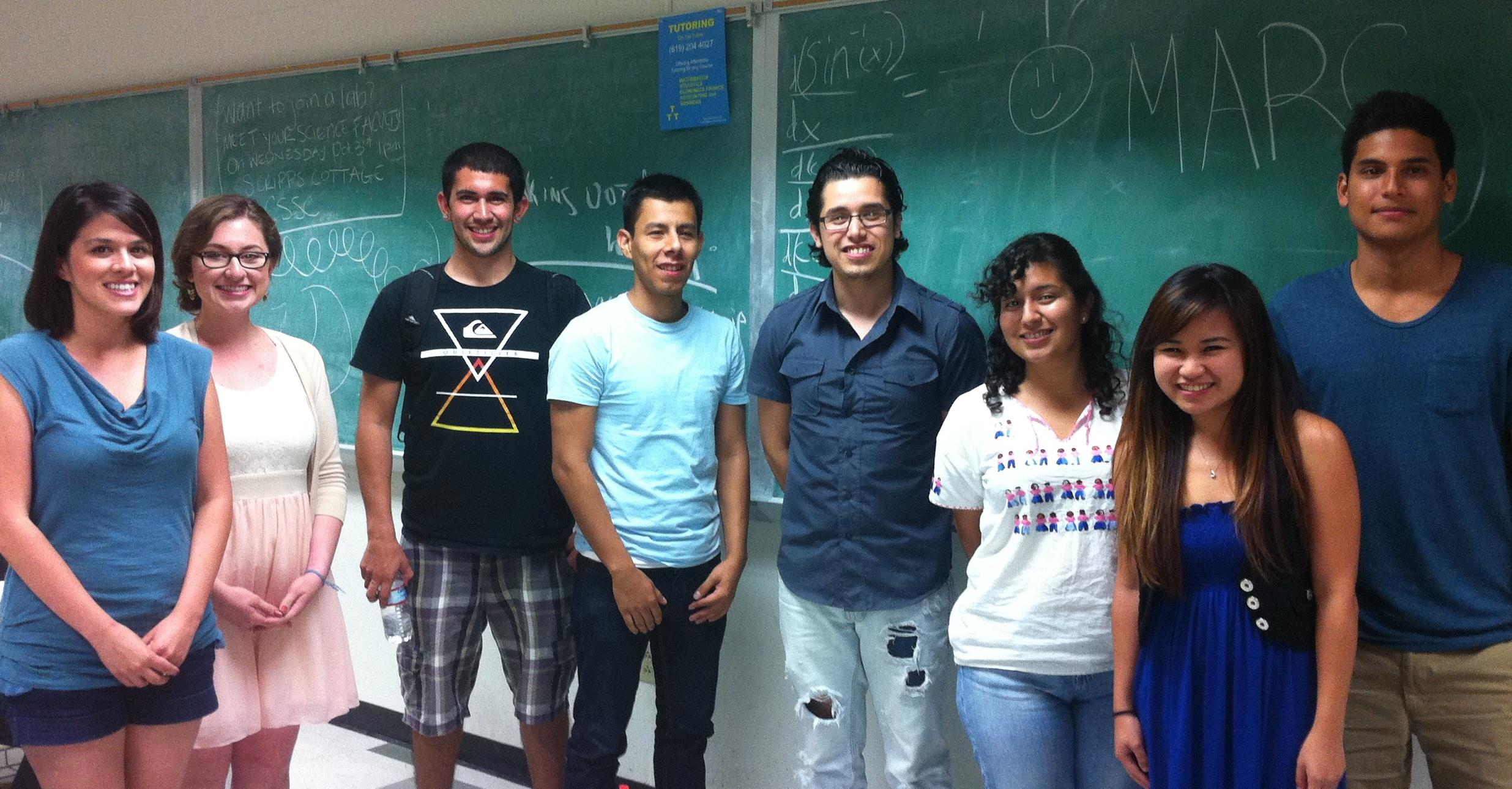 2012-2013 MARC Scholars