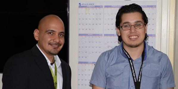 />Dr. Edward Steven Jimenez and Ismael Perez