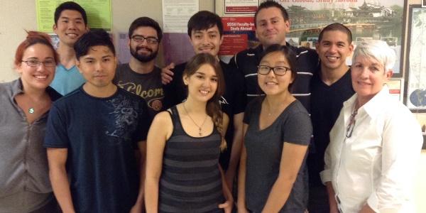 MARC Scholars Group Photo, 2014-2015