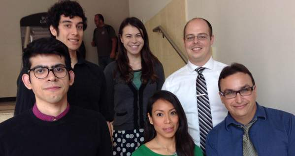 Group shot of Current Ph.D. Panelists