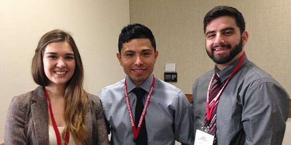 MARC Scholar Wins Award at the 2015 SDSU Student Research Symposium