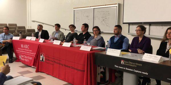 A succesful 2018 Post-Ph.D. Panel!
