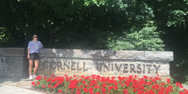 SDSU MARC scholar Shares her Summer Research Experience at Cornell University