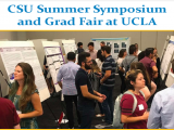 Third annual CSU Summer Symposium and Graduate Fair at UCLA!