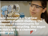 Former MARC Scholar Jade Johnson Featured on SDSU NewsCenter